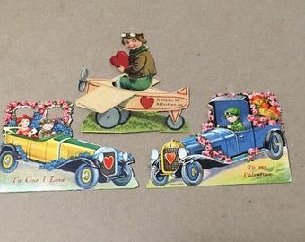 Vintage Valentines Printed in Germany