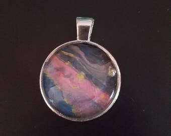 Fluid Art Pendant