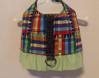 Crayon Themed Harness Vest (Small)