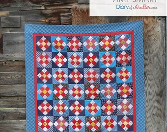 A Stitch in Time Quilt Pattern by Amy Smart Free Shipping in the US