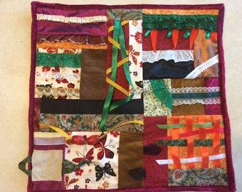 Fidget Quilt / Sensory Blanket - Butterfly Migration