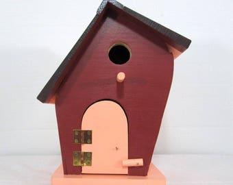 Leaner Birdhouse #617