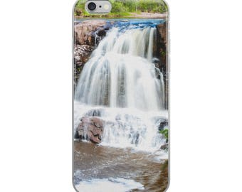 iPhone 5/5s/Se, 6/6s, 6/6s Plus Case - Red Silo Original Art - Twin Falls