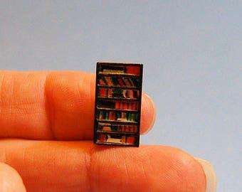 1/144th inch scale miniature-Tall Bookcase