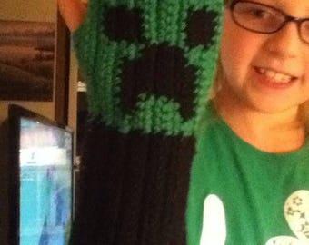 Minecraft Fingerless gloves