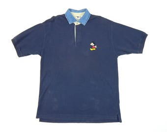 Vintage Disney Mickey Mouse Polo Shirt