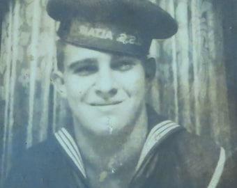USS Altair - Artistic 1940's World War II Sailor Boy Photo Booth Photo