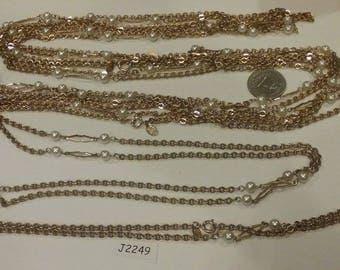 """Vintage,  signed,  Park Lane, Necklace,  36"""" long,  J2249"""