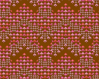 Pre-order: Prismatic in Cocoa by Amy Butler from the Soul Mate collection for Free Spirit #CPAB005.8Coco by 1/2 yard