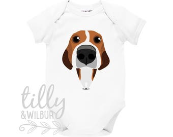 Beagle Baby Bodysuit, Beagle Baby Clothing, Beagle Clothes, Beagle Baby Outfit,  Beagle Clothing, Beagle Lover Outfit, I Love Beagles Dogs