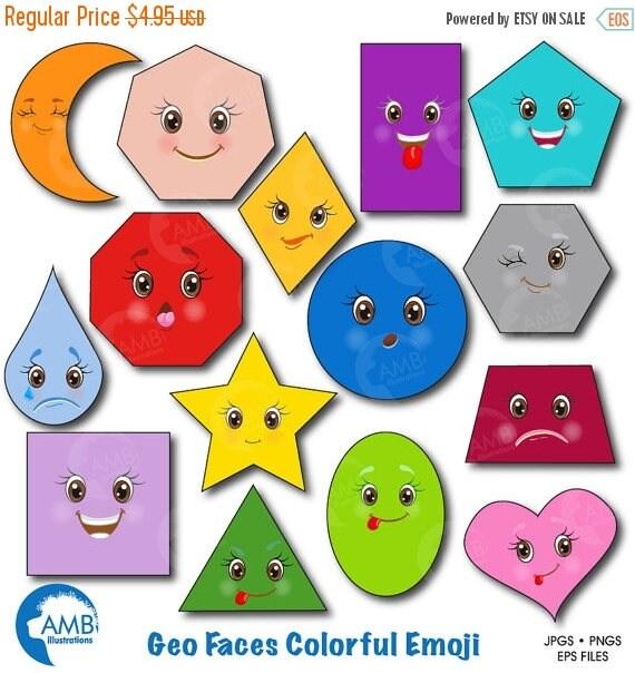 Clipart Feelings Clipart Emoji Emoji Clipart Faces Clipart Feelings Clipart  Geometric