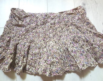 Little country skirt, summer, party, vintage, retro, flowers skirt, birthday gift, cheap clothes, cheap gift, clothing, boho, womens, girls
