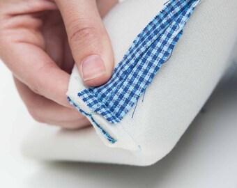 Half Metre Style Vil by Vlieseline® Vilene® Foam lightweight interfacing fabric sew in Black or White - Bag making