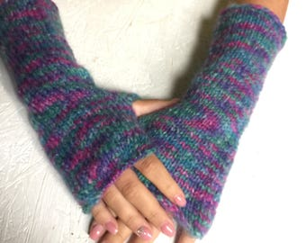 20% sale women gift gloves Fingerless gloves Mittens Long Arm Warmers Boho Glove Women Fingerless Wrist long arm warmers Ready to ship!