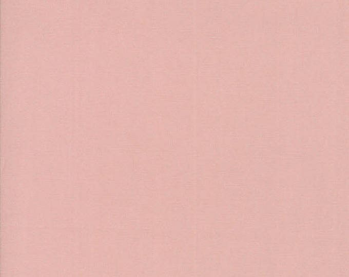 BELLA SOLIDS - Bunny Hill Pink - Solid Blender Cotton Quilt Fabric - from Moda Fabrics - 9900-195 (W4413)