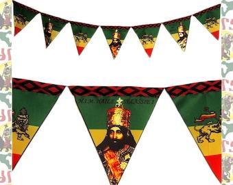 Haile Selassie I/Lion of Judah [drs]Pennants (triangular)