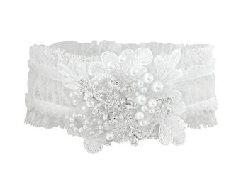 Exquisitely Made Ivory Bridal Garter