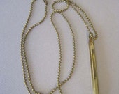 Mechanical Pencil on a Ball Chain Necklace - Vest Pocket Pencil - Chatelaine - Working