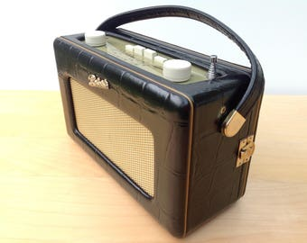 Vintage Mulberry Leather Limited Edition Roberts Revival Radio R250