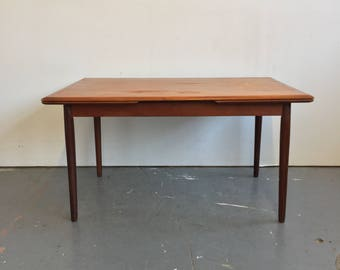 Vintage Danish Modern Teak Spottrup Dining Table - Free NYC Delivery!