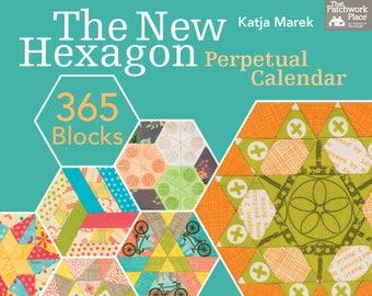 English Paper Piecing Patterns - Katja Marek's The New Hexagon EPP Pattern Calendar -