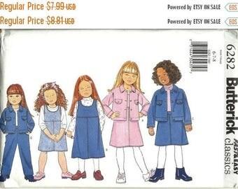25% OFF Butterick 6724    Toddler Jumpsuit, Jumper and Blouse     Size 1,2,3,4   Uncut