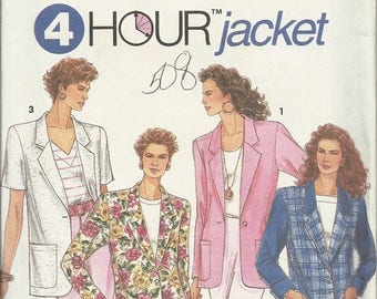 25% OFF Simplicity 8301   Misses Jacket withOptional lining   Size 6,8,10,12      uncut
