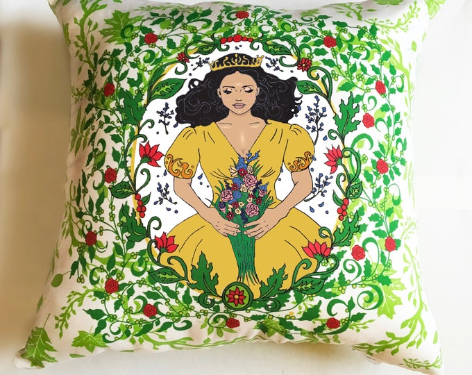 Sleeping Beauty decorative pillow- Option B