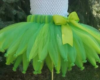 Pick Your Colors! Fairy Tutu Skirt, TUTU SKIRT ONLY, Fairy Wedding, Tinkerbell Tutu, Tink Tutu, Tinkerbell Costume, Tink Costume, Halloween