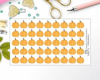 Pumpkin Stickers - Planner Stickers - Autumn Planner Stickers - Fall Planner Stickers - Happy Planner Stickers - Erin Condren Stickers