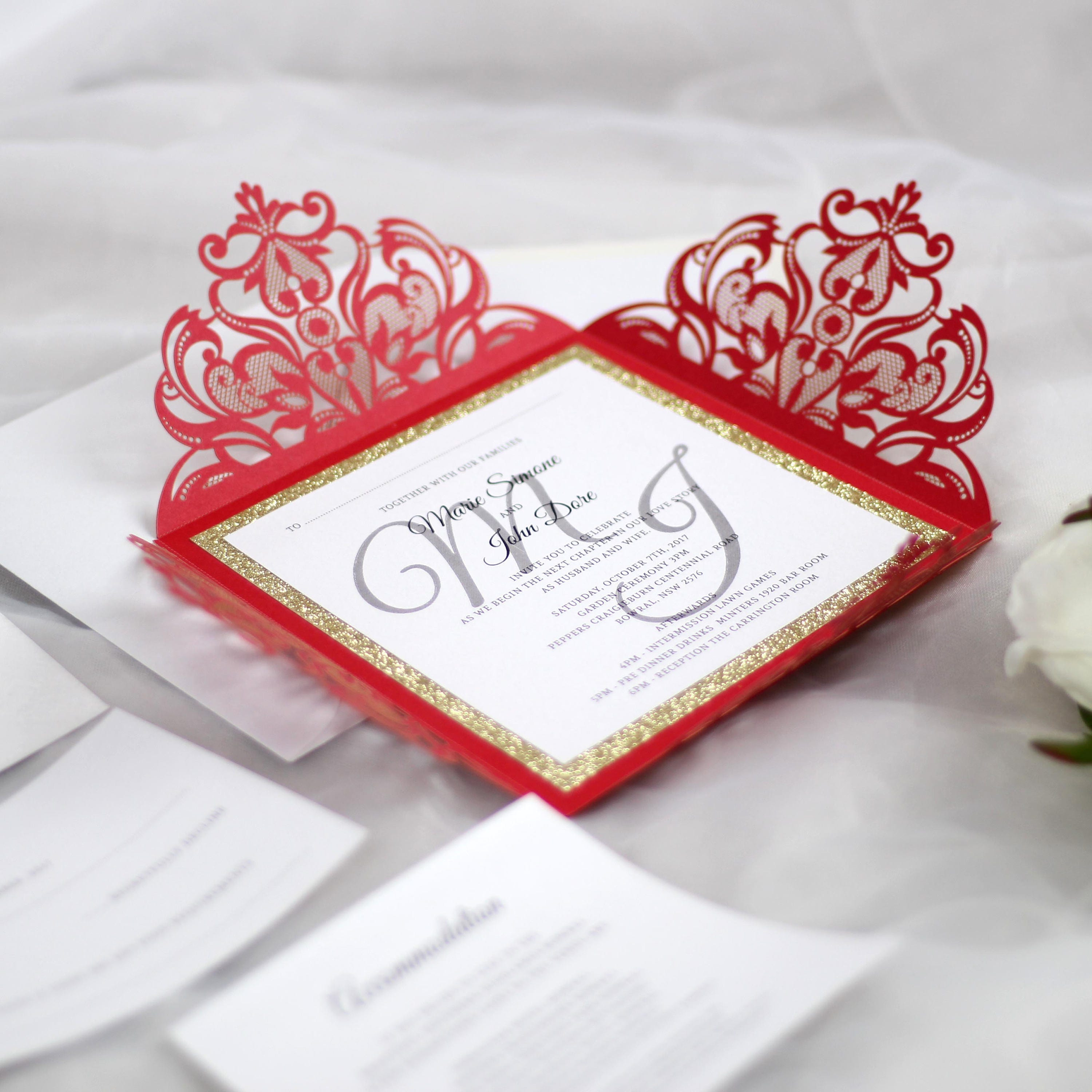 Exelent Lace Invitations Wedding Picture Collection - Resume Ideas ...