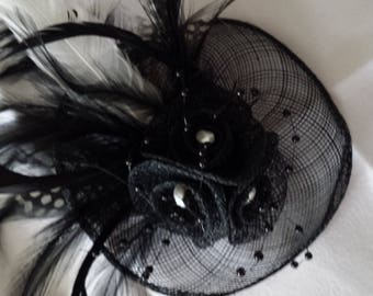 Headband Fascinator inspired vintage hat of ceremony