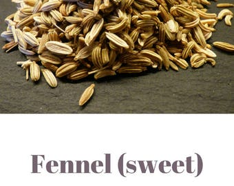 Sweet fennel essential oil QRDS