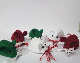 3 Pack - Cute Christmas Mice