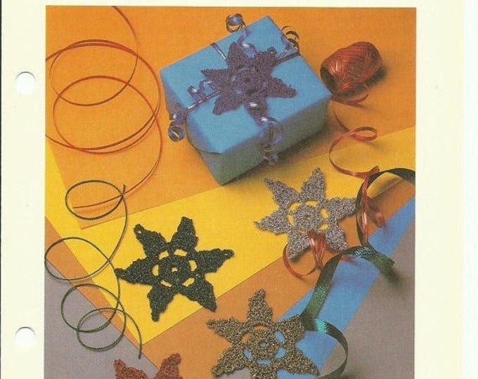 Retrocon Sale - Star Ornament crochet pattern download