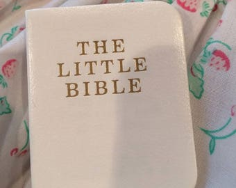 Lee Middleton Little White Bible For Your Doll NEW