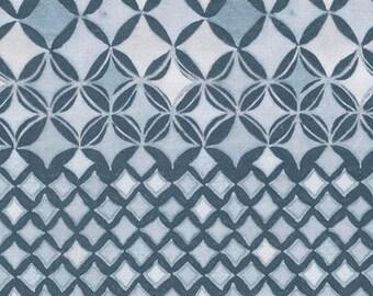 1/2 Yard - Quiet Moments - Sea Spray - Fog - Shell Rummel - Coats Fabric - PWSR013.8FOGX