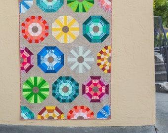 Sea Urchins Quilt Pattern - Elizabeth Hartman - Robert Kaufman - EH 035