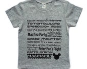 Theme Park tee for infants/toddlers/children