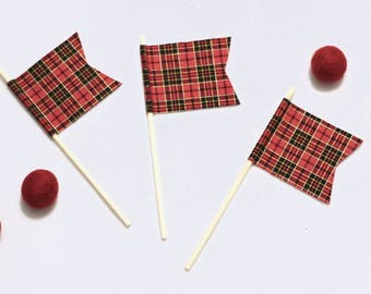 Mini Holiday Flag Set