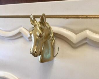 Horse drawer knob | Etsy