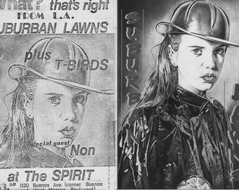 SUBUBRAN LAWNS Fanzine