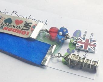 I Love London ribbon Bookmark