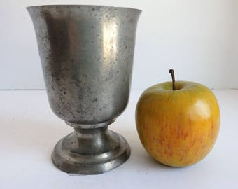 Vintage Woodbury Pewter Goblet