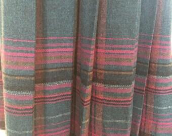 Classic Vintage Pendelton Wool Skirt