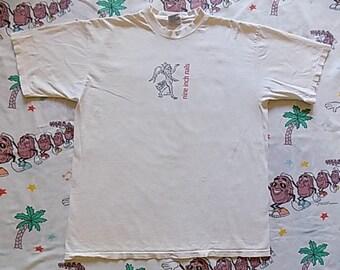 Vintage 90's Nine Inch Nails T shirt, size XL 1995 Downward Spiral industrial rock Goth