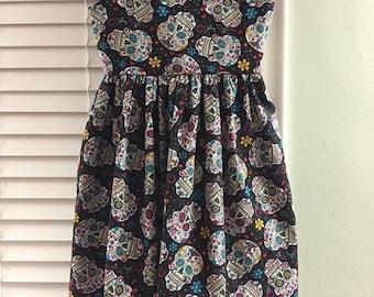 Size 10 Sugar Skull Dress