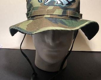 Eagles military bucket hats