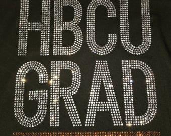 HBCU GRAD- Gold Stones