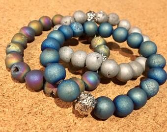Druzy Bracelets 10mm